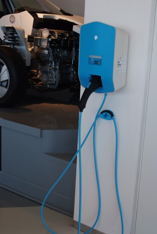Standard Better Place home charging station