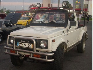 Suzuki Samurai in Montreal, Quebec, Canada; source: WikiMedia Commons