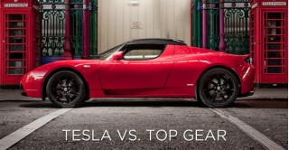 Tesla versus Top Gear