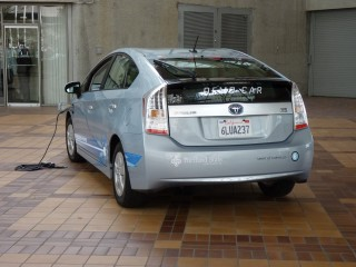 2012 Toyota Prius Plug-In Drive - March 2011