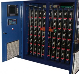 Xtreme Power energy storage battery, installed at Ford's former Wixom Assembly Plant